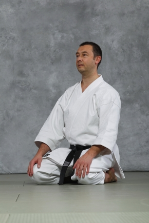 Pascal BURLION 6e dan Responsable National TAI JITSU