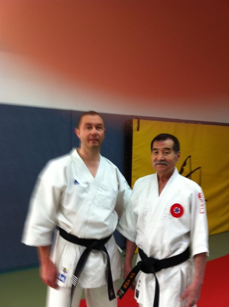 STAGE NATIONAL MAITRE TANAKA 9e DAN expert en TAI JITSU (1/2)